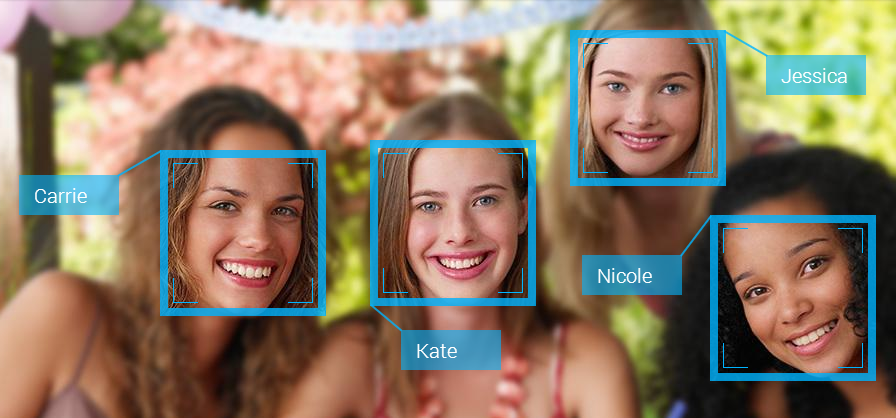Facial recognition Obscuring