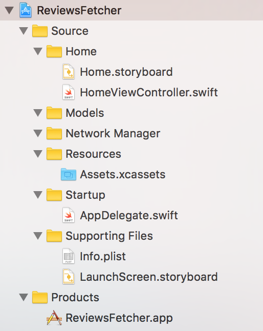 Part 2: Structure Your Folders in Xcode - Code Like A Girl