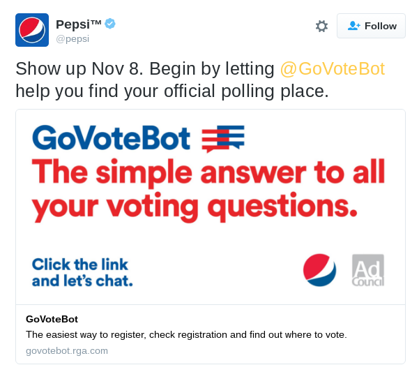 Chat the Vote - Informed and Engaged - Medium