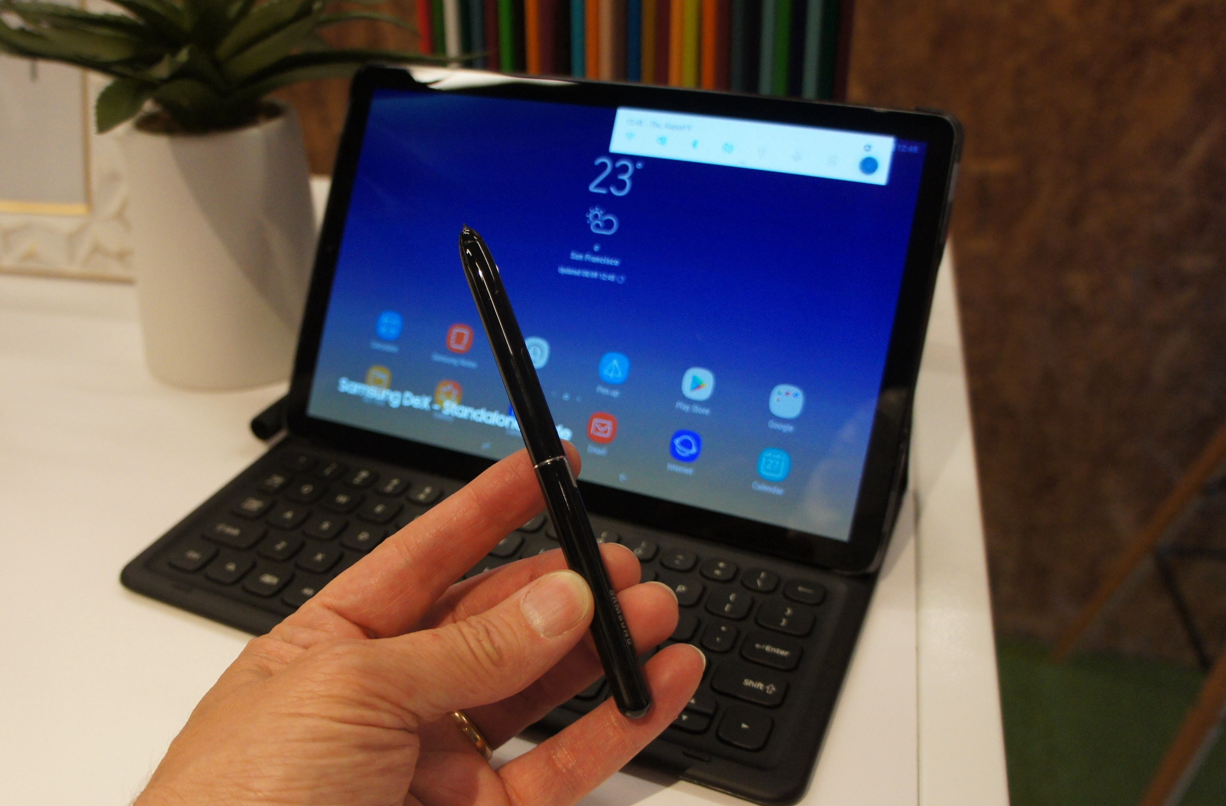 The new Samsung Galaxy Tab S4 puts Android to work - Lance