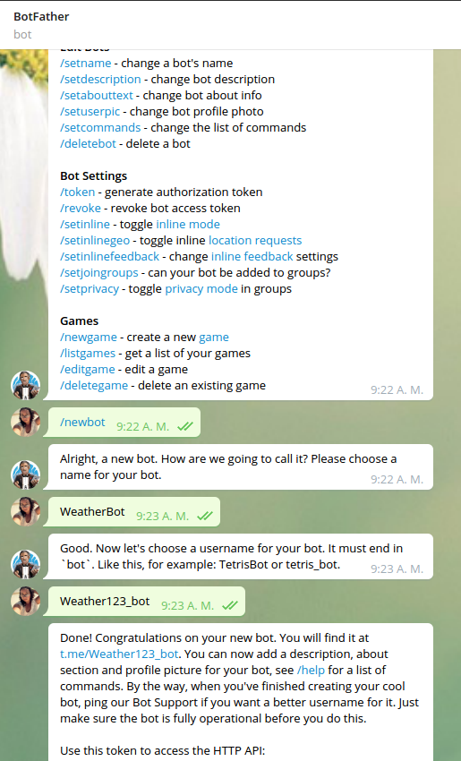 Tutorial: Creating a Basic Weather Chatbot - Chatbots Life