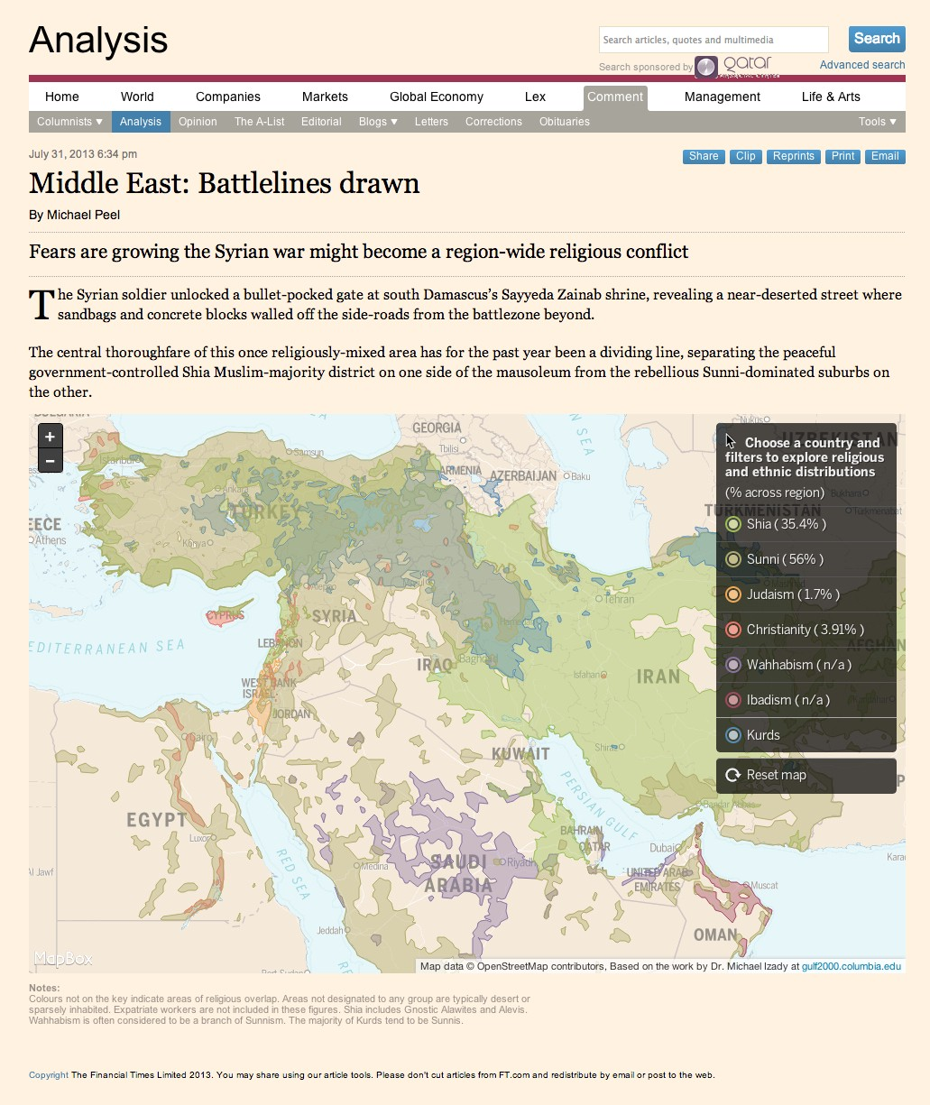 Financial Times Goes Mapbox Design Matters By Mapbox Maps For Developers
