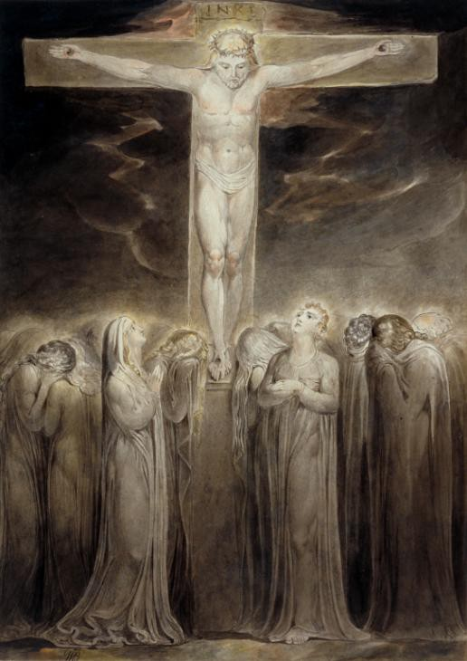 The Crucifixion: 'Behold Thy Mother' c.1805 William Blake