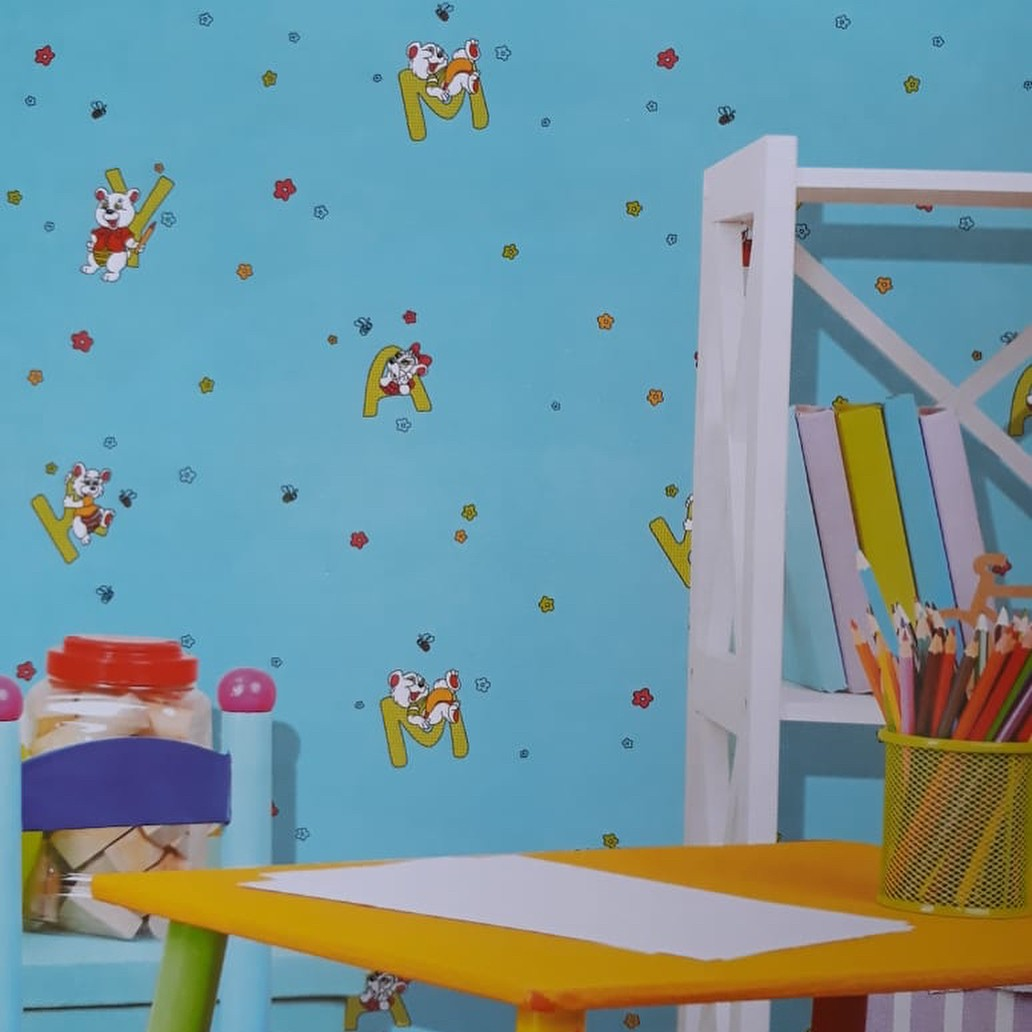 Wallpaper Dinding Motif Lucu Dony Queenwallpaper Medium