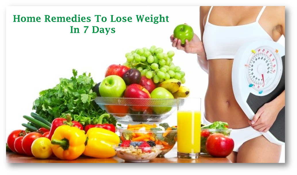 How to lose weight fast naturally at home