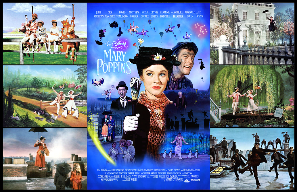 Art print poster Julie Andrews Performing