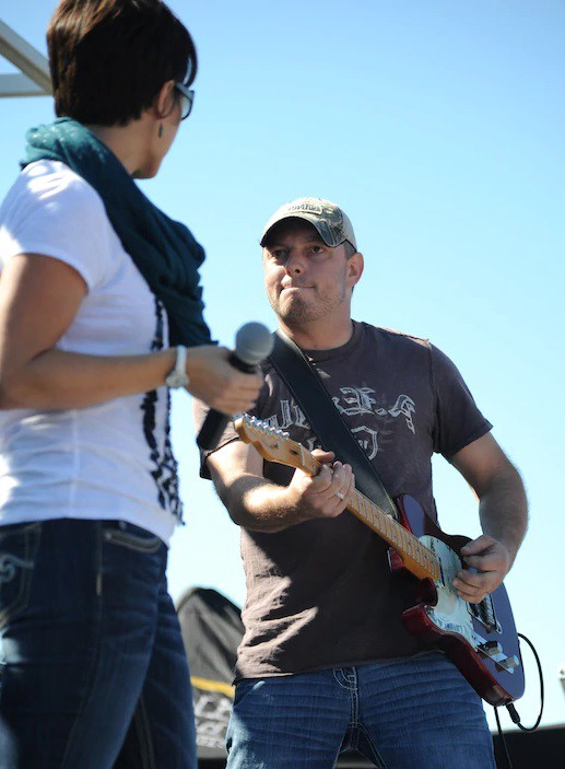 Country Star, Rodney Atkins performing at Keesler Air Force Base