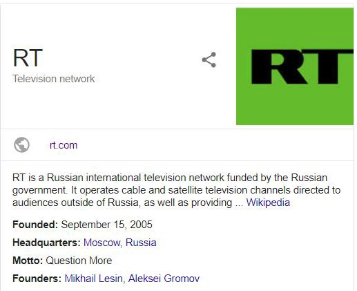 Russian TV (RT), is here  Deal wit' it  - gregory rush - Medium