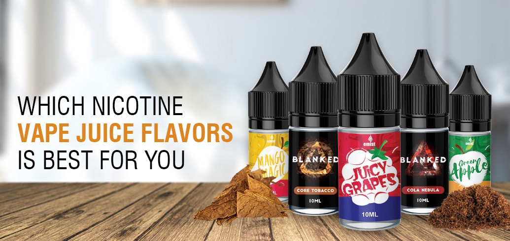 Which Nicotine Vape Juice Flavours is best for You?