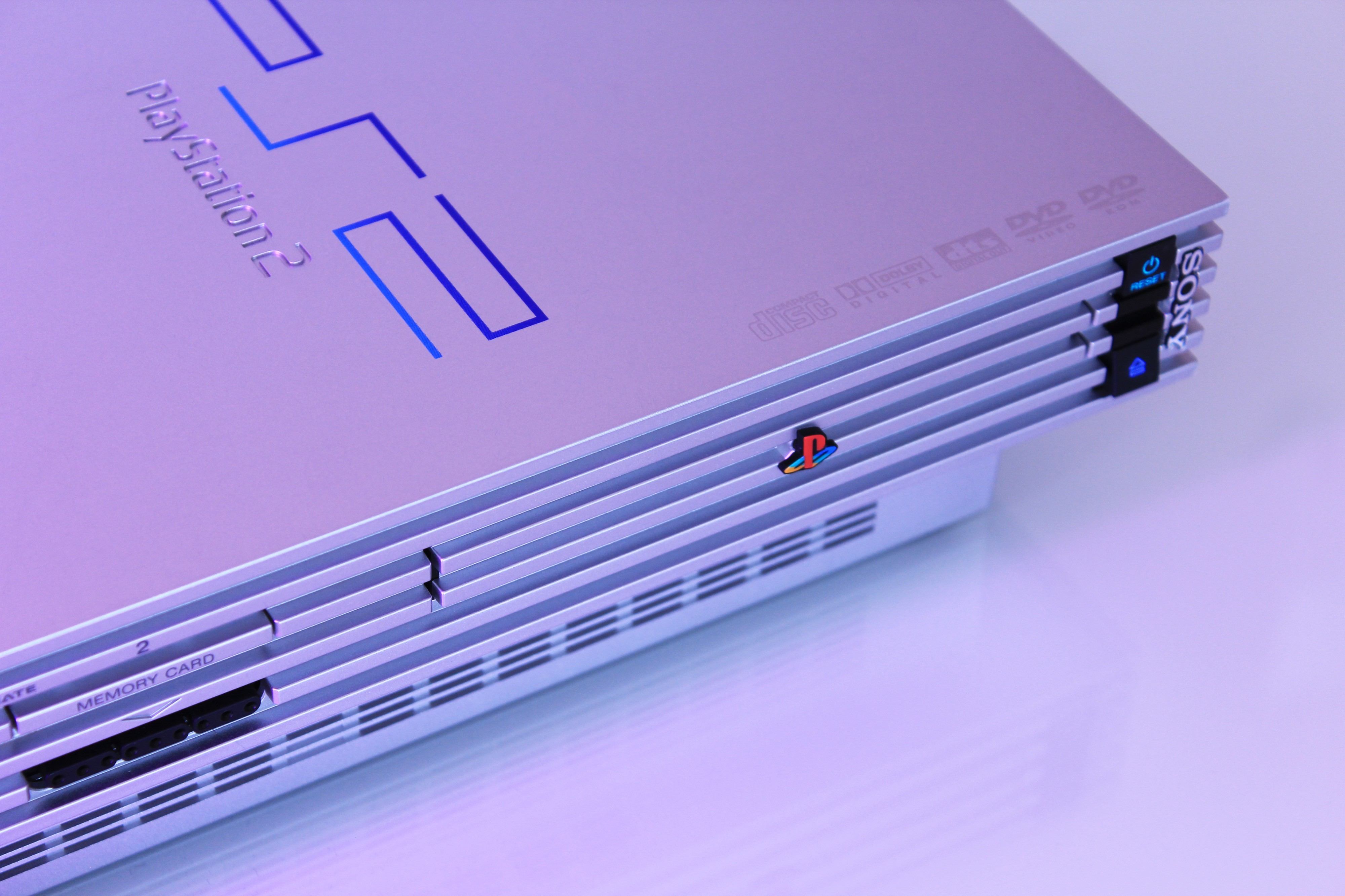 PS2 console.