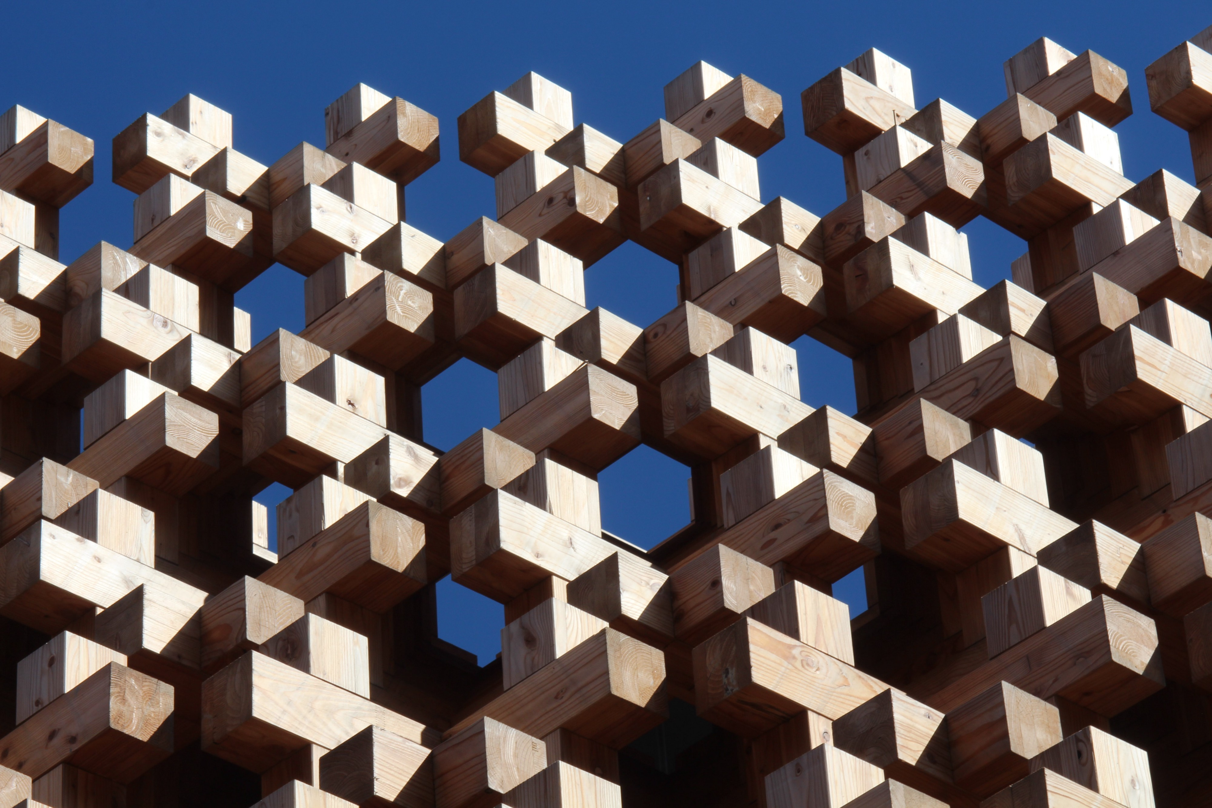Using open source libraries is like building with blocks