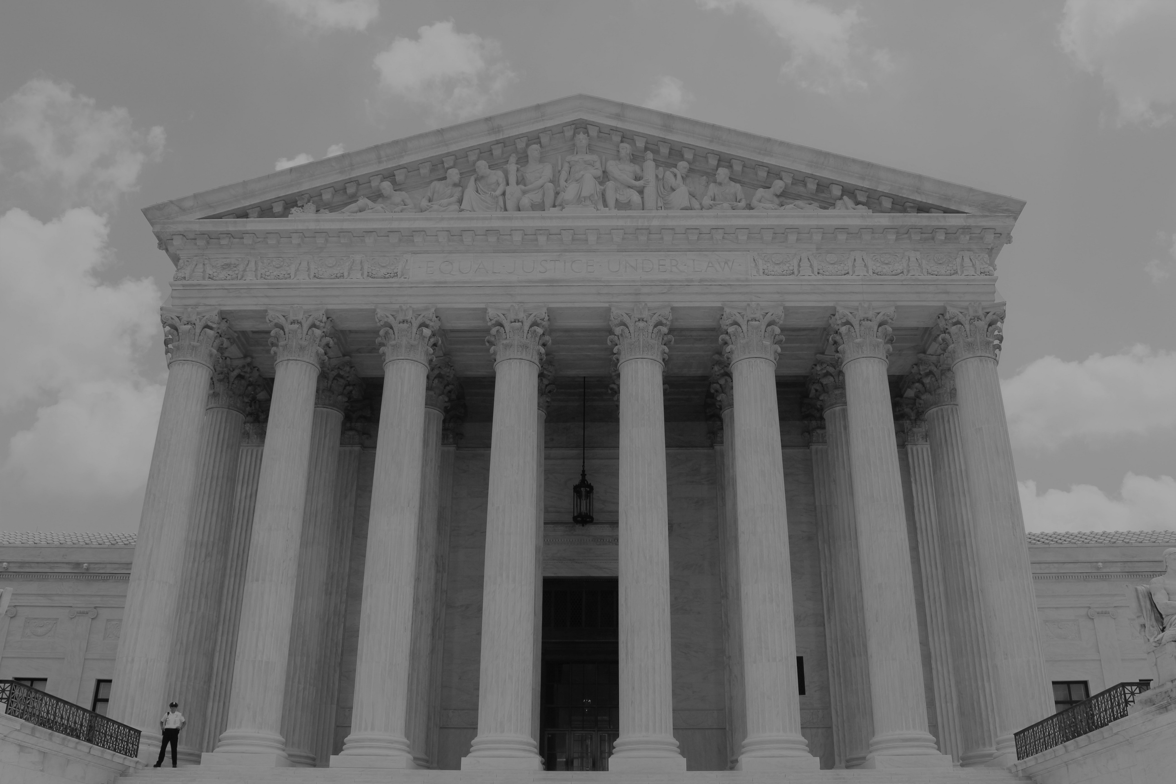 Image of the United States Supreme Court.