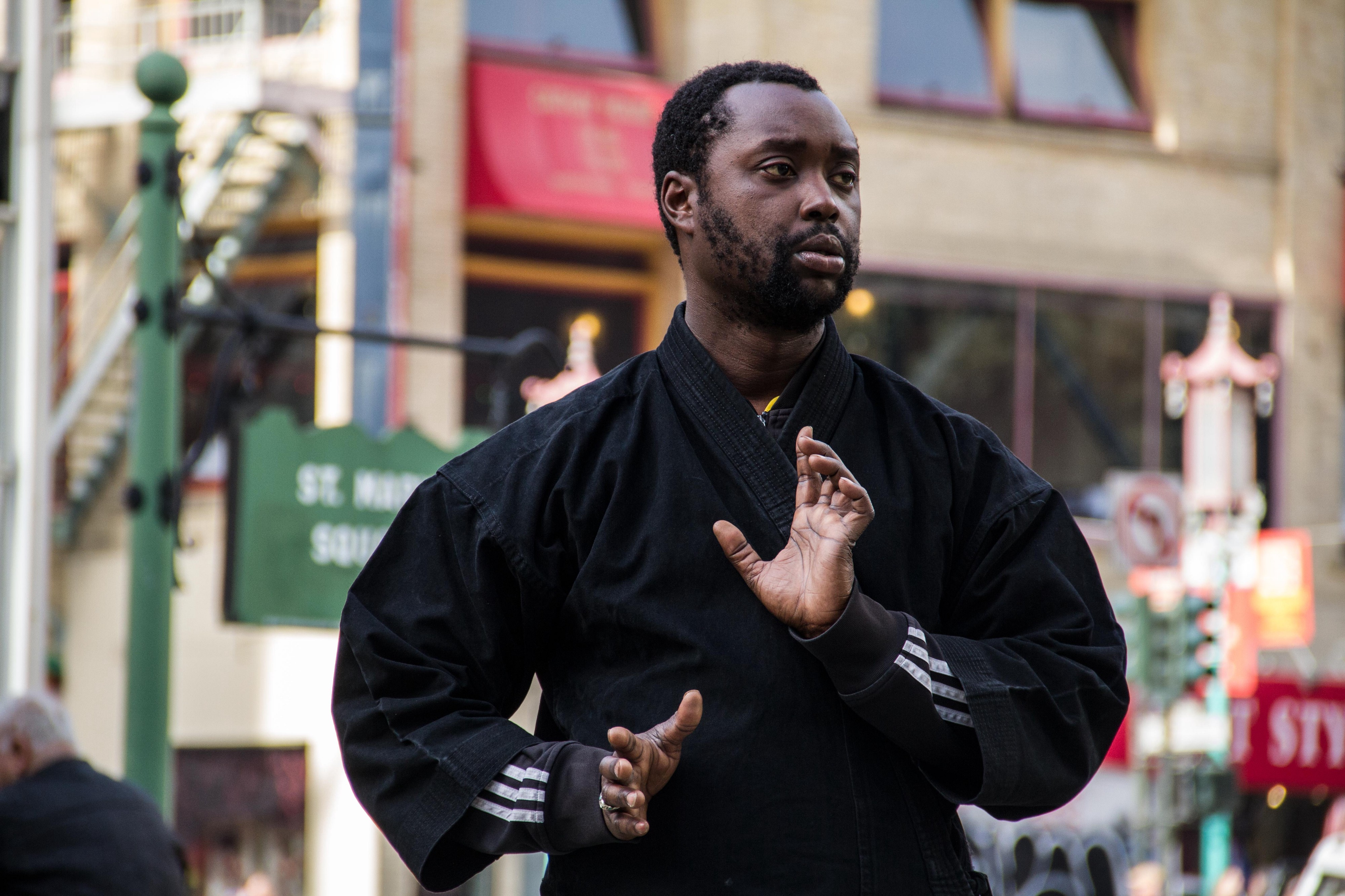 """Tai Chi helps me cope with being homeless """" Jason - Stories"""