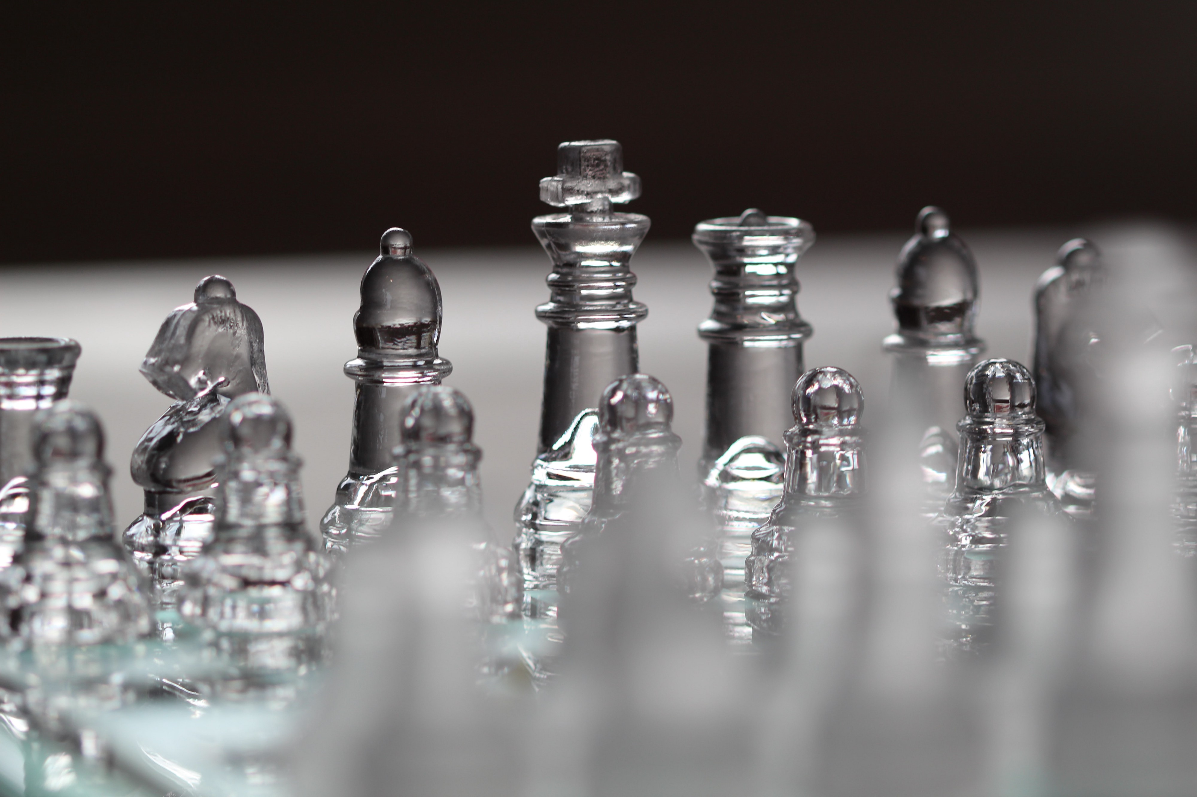 chess board illustrating strategy