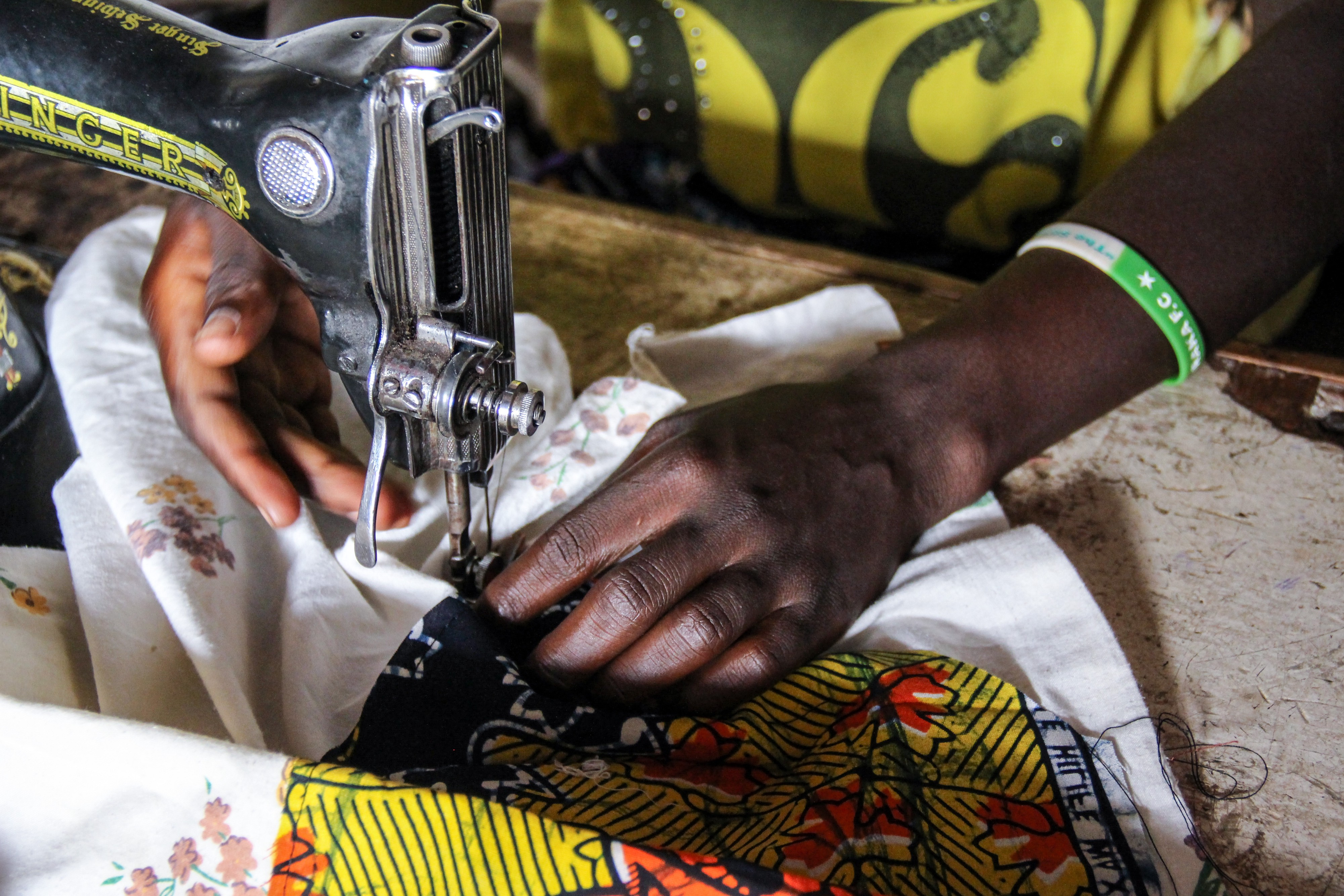 Cash for Work' programme gives hope to refugee women and
