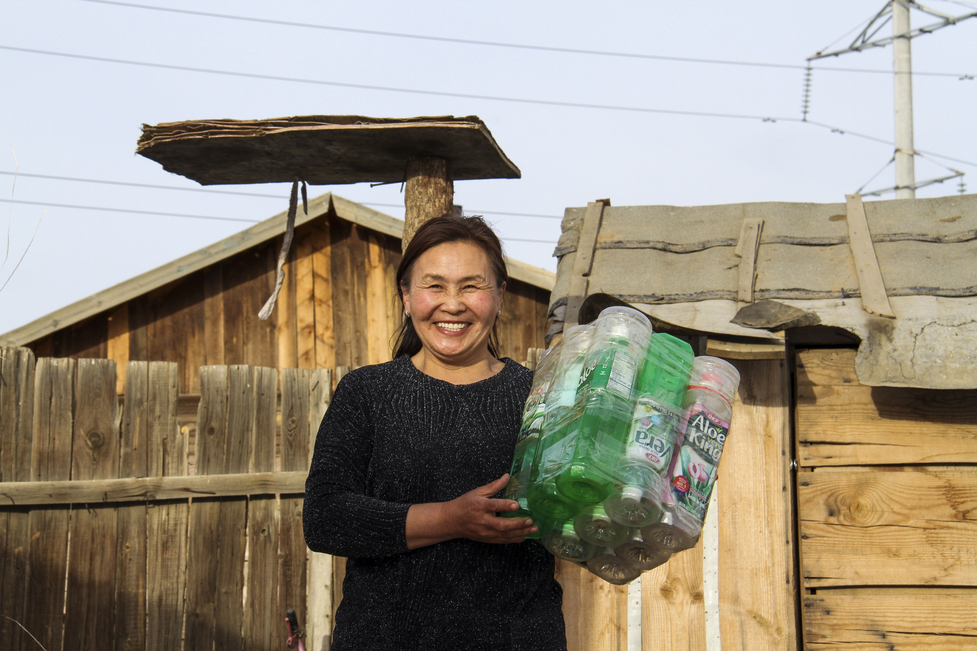 Meet the woman creating jobs in Mongolia to beat plastic