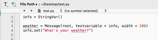 How to Build Your Own Cool Weather Widget Using Python with