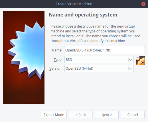 OpenBSD 6 4: Installing a Seriously Underrated OS in a Virtual Machine