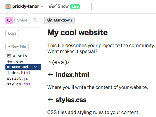 HTML/CSS: The Fun Parts (Make a Personal Web Page) - Kelly