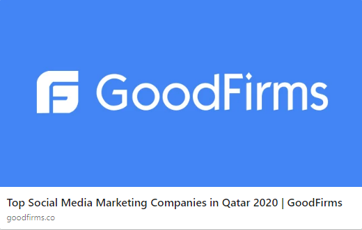 ZealousWeb Attains The Title Of Top Social Media Marketing Company In Qatar!