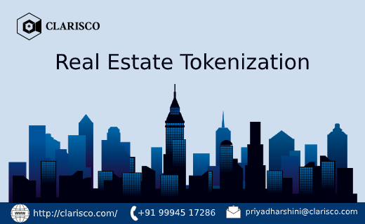 real estate tokenization, ico, cryptocurrency exchange development,initial coin offering, clarisco