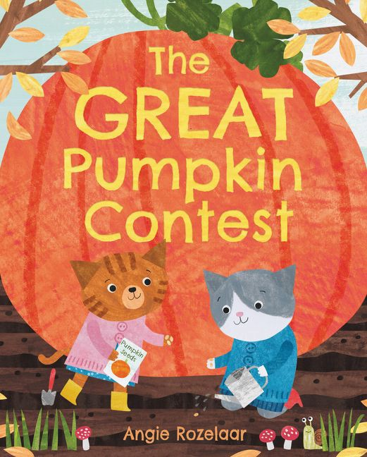 the great pumpkin contest by angie rozelaar