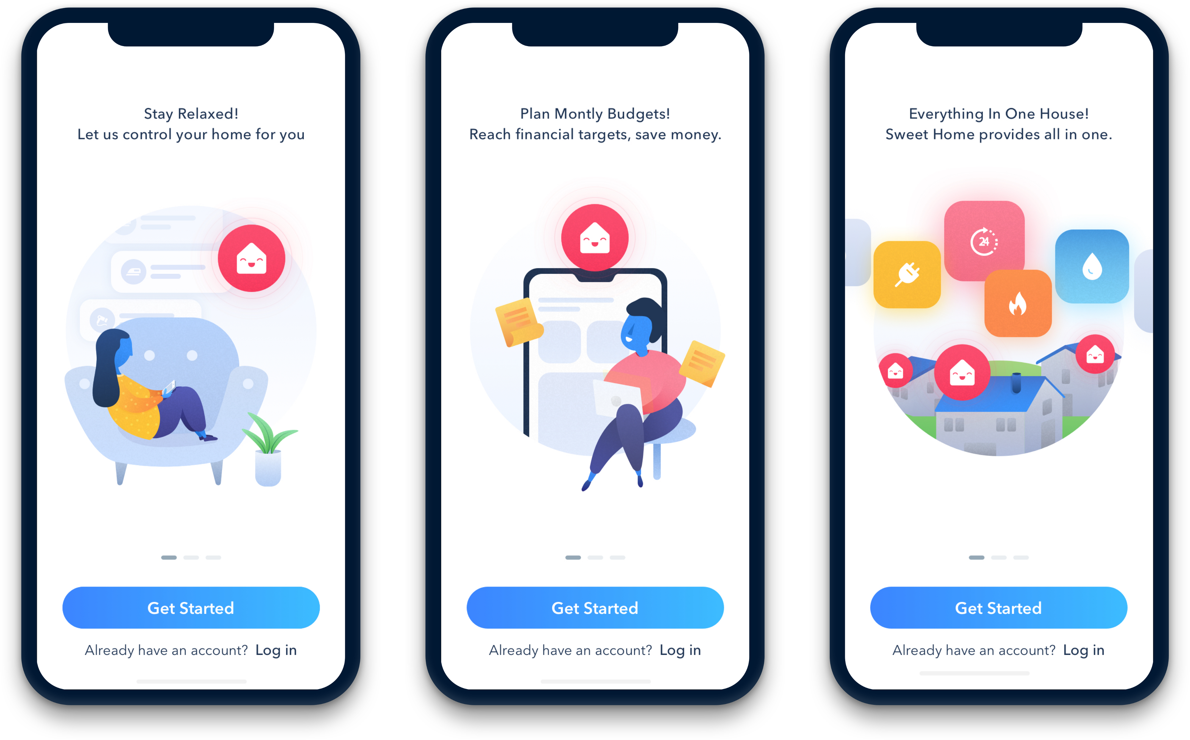 Sweet Home Smart Home Energy Monitor A Ux Case Study By Sepideh Sabour Ux Collective