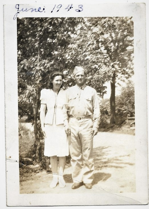 Loretta Cliff and Erling Cliff 1943