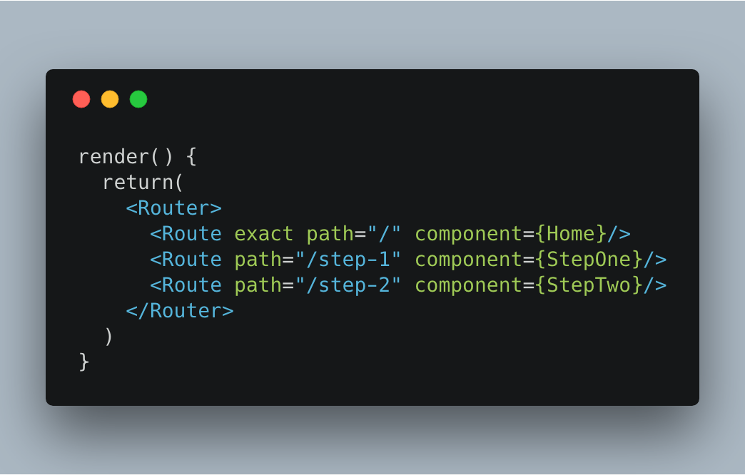 How to pass props to React routes components