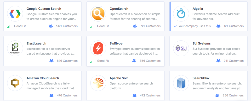 Top API and Developer Search Tools of 2016 - Siftery - Medium