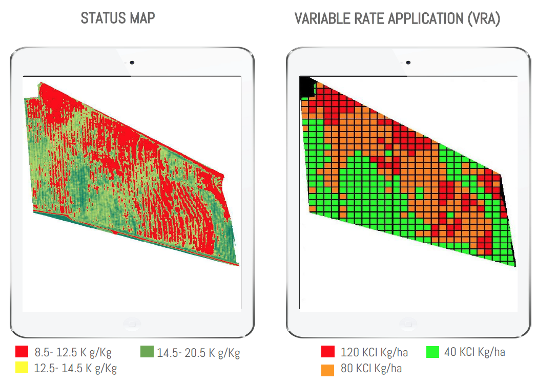 Variable Rate Application in Precision Agriculture - Gamaya