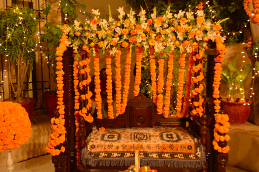 Budgetweddings  Low cost Mayun décor ideas , Just Because