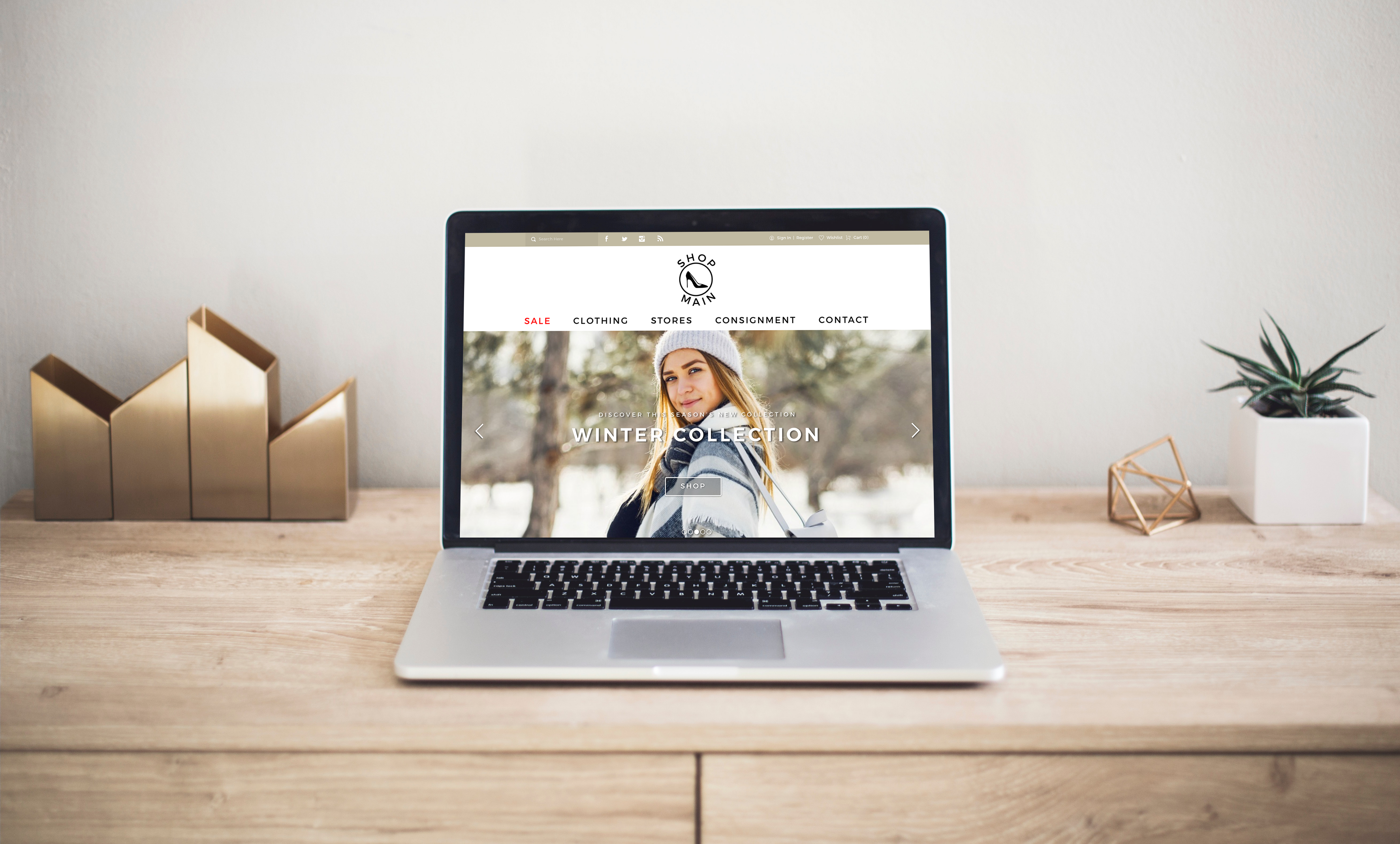 UX Case Study — Main St  Women's Clothing E-Commerce Website