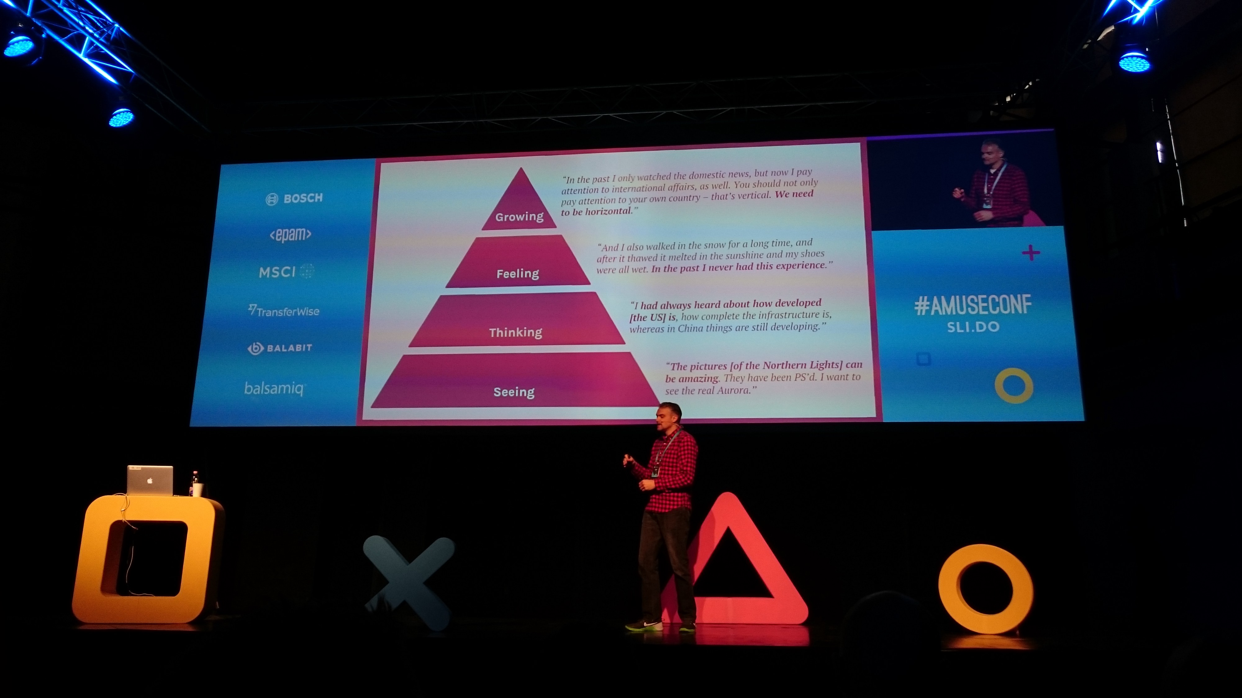 Amuse UX Conference 2017 — Takeaways Part 1 (Day 1 & Atmosphere)