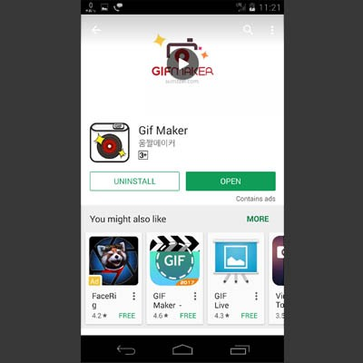 From Android Create Animated GIFs Of Your Photos - Bigtricks