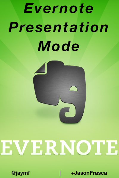 Why I Will Not Use PowerPoint or Keynote Again — I'm Using Evernote