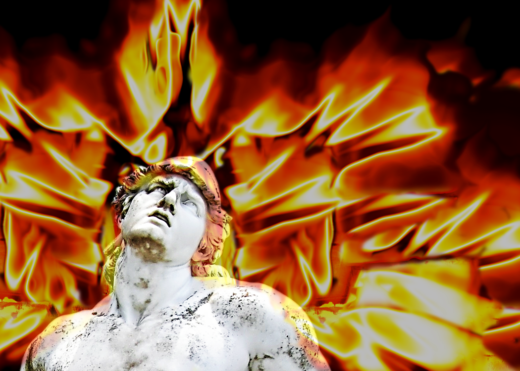 It All Comes Together When Achilles Head Bursts Into Flames By Kathleen Vail Medium