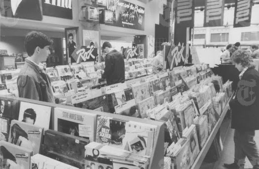 Image result for vinyl albums tower records