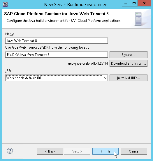 Java-Based Apps on SCP: Part 1-Setup Eclipse - Chairat me
