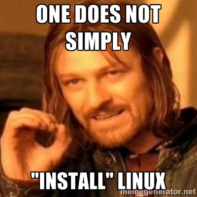 My Experience With Linux of the 90s, or why I have Linux Desktop PTSD