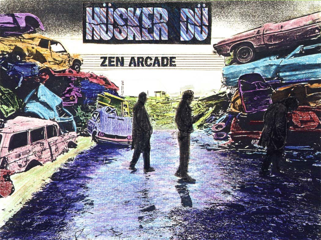 "Albums for The Apocalypse #4: Hüsker Dü's ""Zen Arcade"""