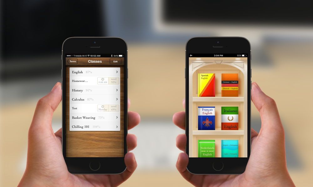 Tapity is looking to sell our Grades and Languages apps—full