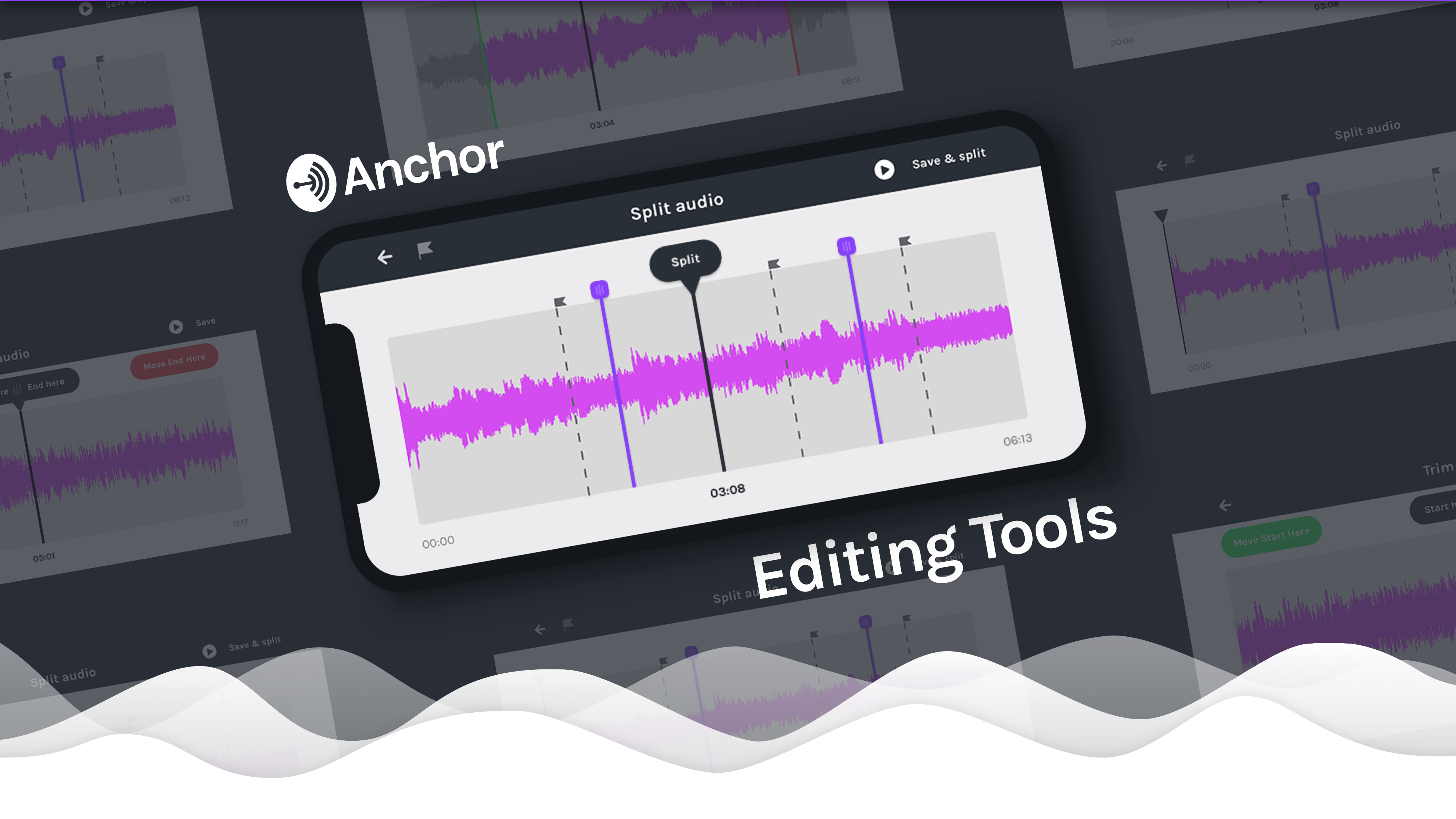 New from Anchor: the first audio editing tools built