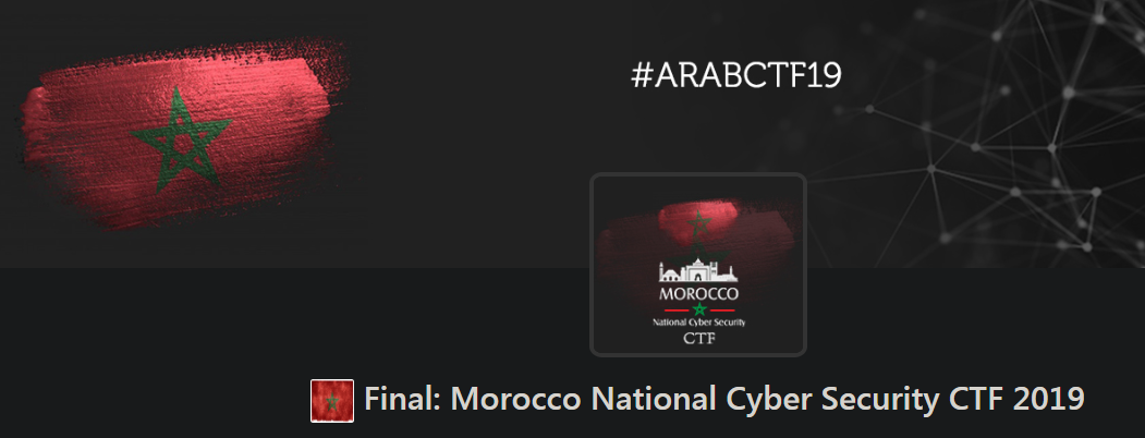 Final: Morocco National Cyber Security CTF 2019 - ASSRI