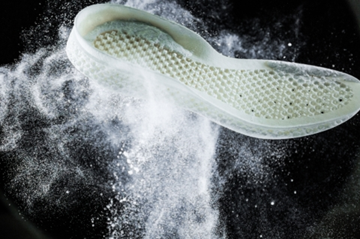 Adidas uses plastic ocean waste to create a 3D printed shoe