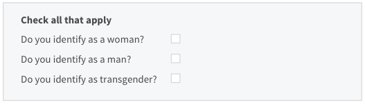 Asking for Gender in Applications - Built to Adapt