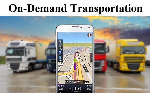 On-Demand Transportation Market—Grand View Research