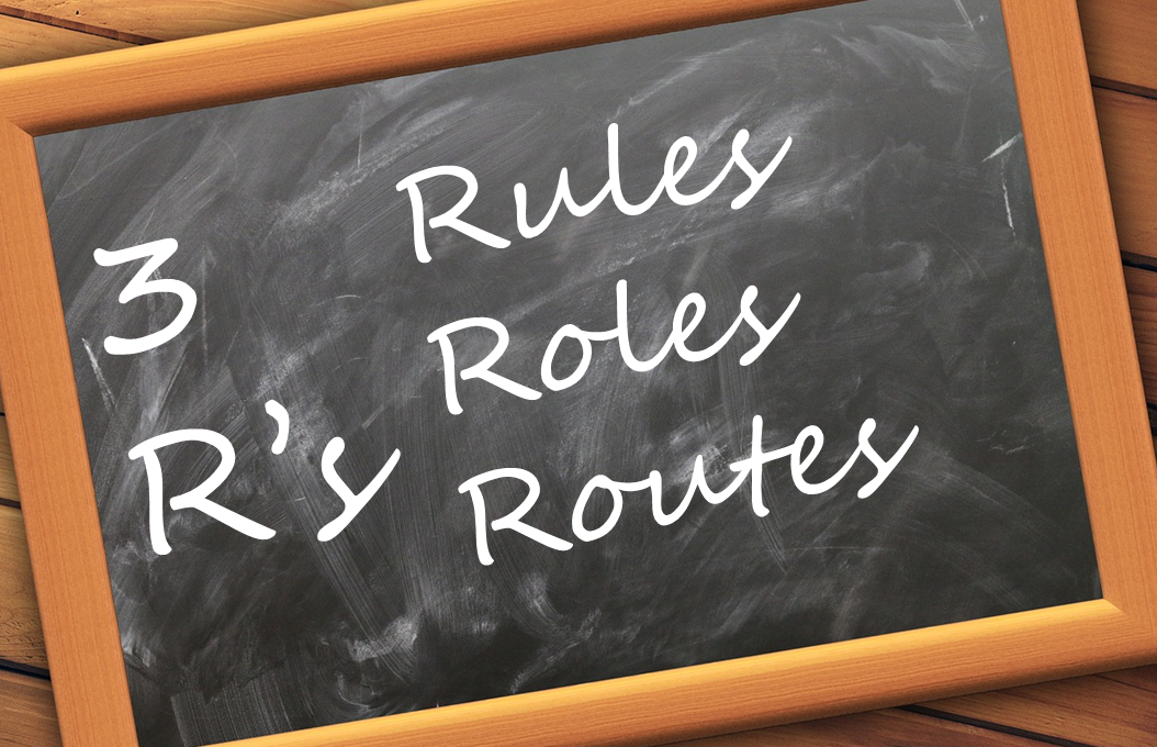 Real World Angular - Part 6: 3Rs … Rules, Roles & Routes