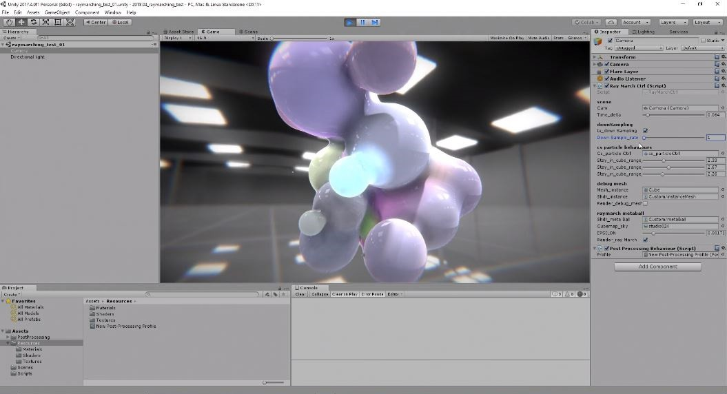 Ray Marching Metaball in Unity3D - Sehyun Av Kim - Medium
