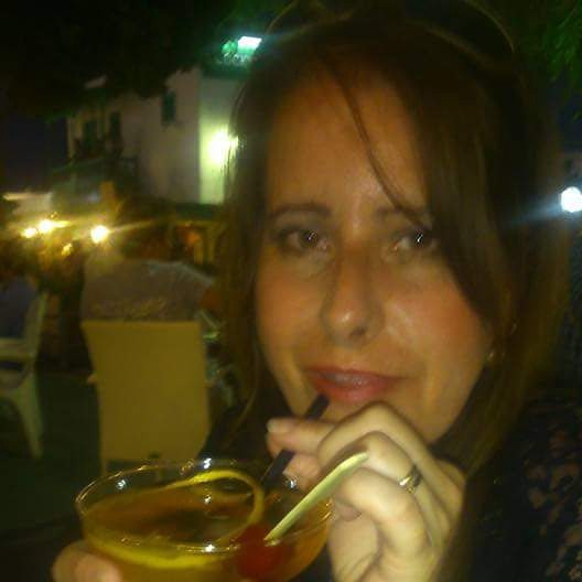 This is me on holiday in Lanzarote. Photo taken by my husband.